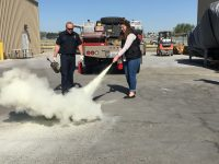 Fire Extinguisher Training at Chukar Cherries